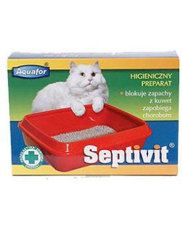 Aquafor Septivit – priemonė kačių tualetui- 4x20g