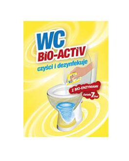 WC BIO ACTIVE – tualeto priežiūros priemonė – 20 paketėlių
