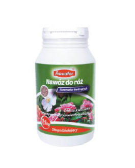 Aquafor ilgai veikiančios trąšos rožėms ir krūmams 1,5 kg