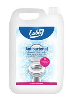 Labo 7 antibakterinis skystis klozetams 5l