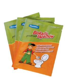 Aquafor blogų kvapų blokatorius – įpakavimas tualetui – 20 paketėlių