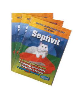Aquafor Septivit – priemonė kačių tualetui – 25X20 gr.