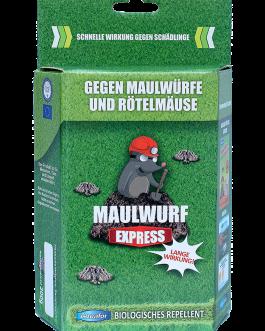 Maulwurf Express Priemonė nuo kurmių ir miško pelių